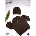 Sweater with collar and Beanie